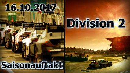 Saisonauftakt der 2. Division