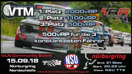 2. VLN Community Event – NSU- 15.09.18