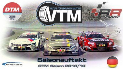 Auftaktrennen Hockenheimring – DTM Saison 2018/2019