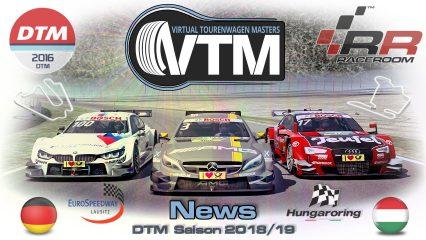 DTM – Lausitzring und Hungaroring